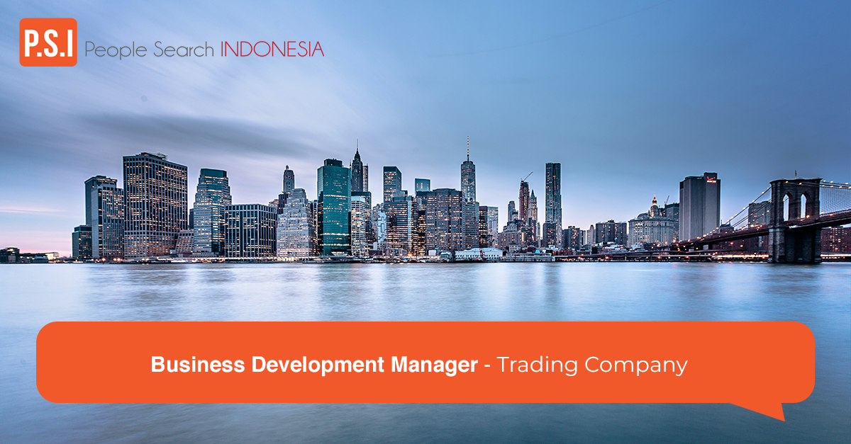 Business Development Manager - Trading Company
