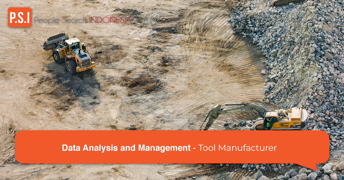 Data Analysis and Management for Tool Manufacturer
